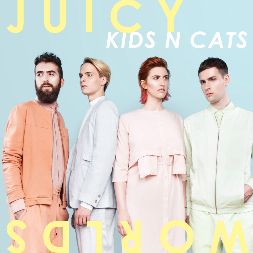 KIDS N CATS - Juicy Worlds - Artwork